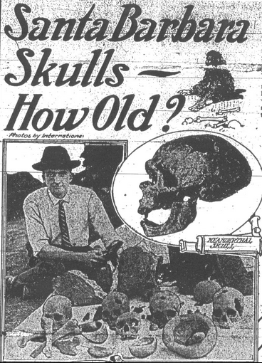 santa barbara skull