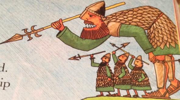 spear goliath
