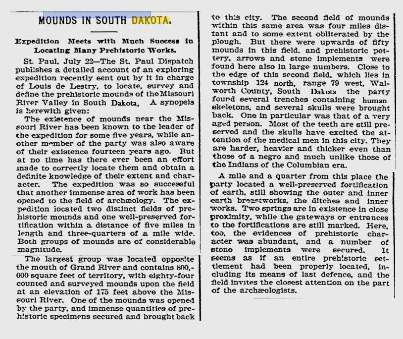 1897 Boston Newspaper