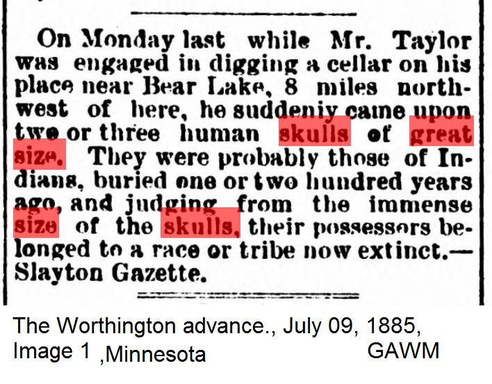 The Worthington advance., July 09, 1885, Image 1