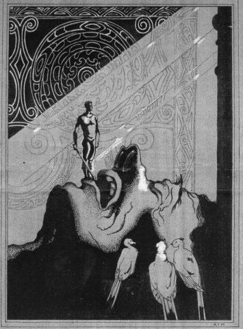Hawaiian_mythological_scene_with_warrior_on_the_head_of_a_giant