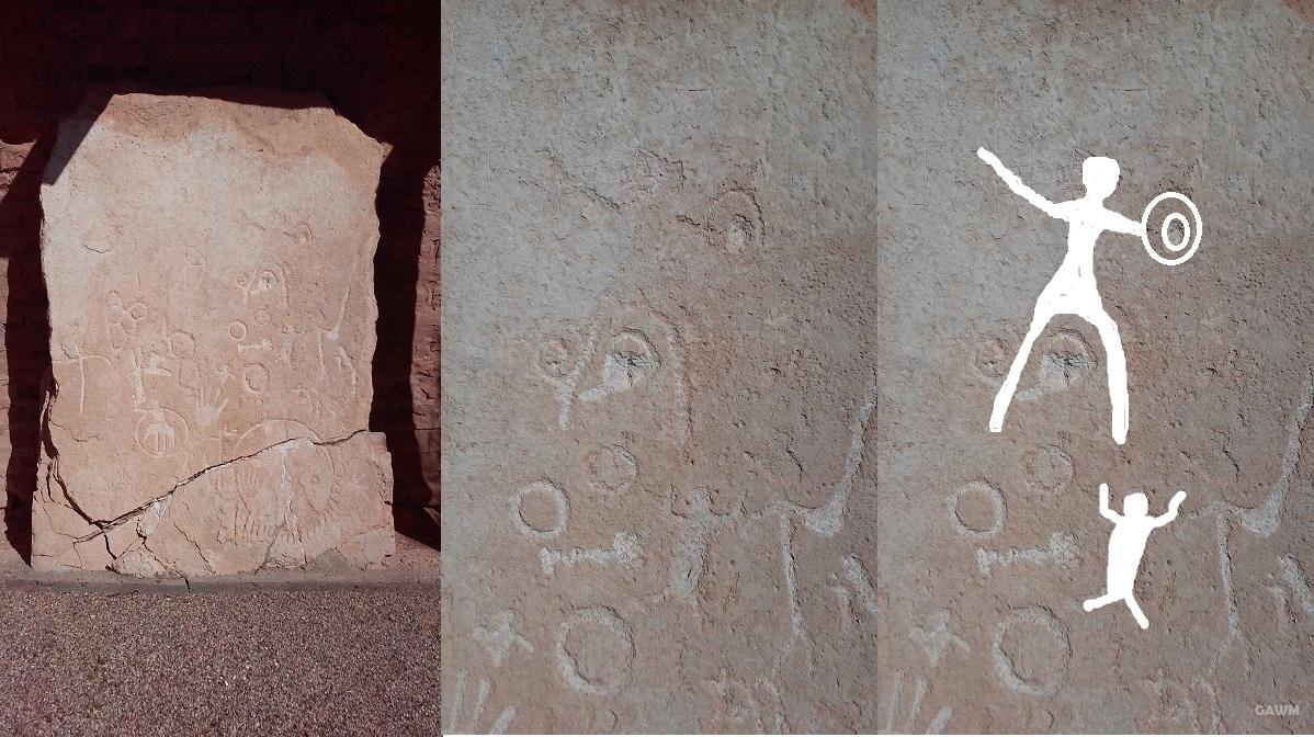 petroglyph collage